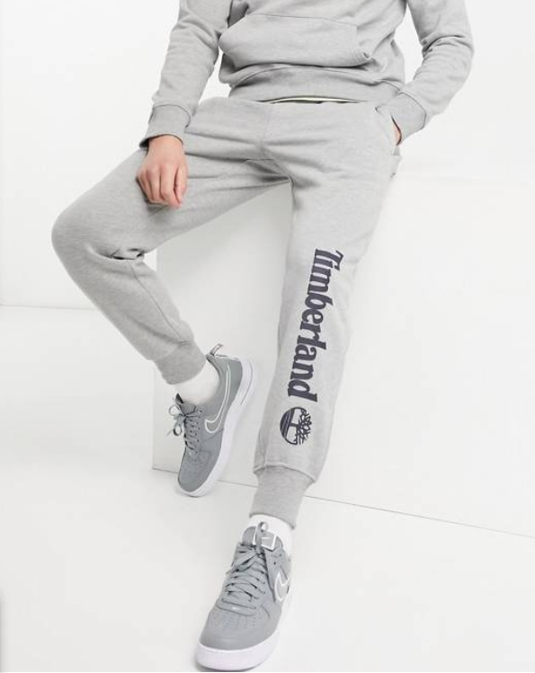 เสื้อ-กางเกง Timberland Core Tree Logo trackies in grey