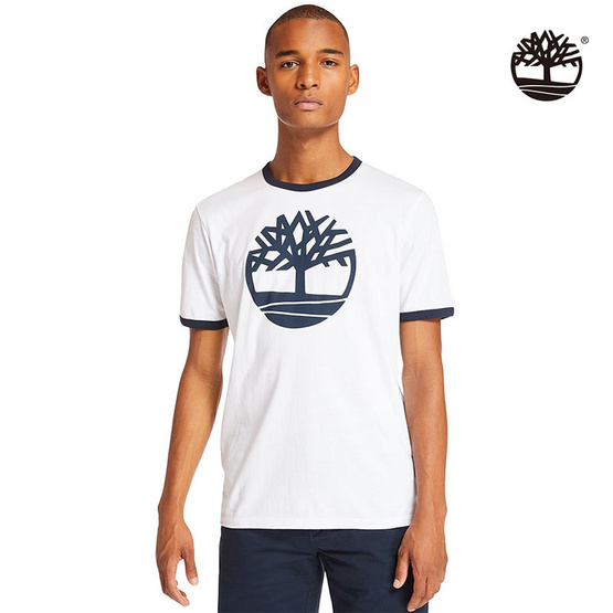 เสื้อ Timberland Tee - White Tree